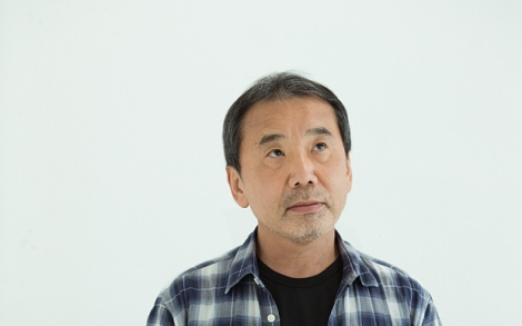 HIGH RES Haruki Murakami photographed at the Random House offices in London 2014. Photo Rick Pushinsky. THE DAILY TELEGRAPH